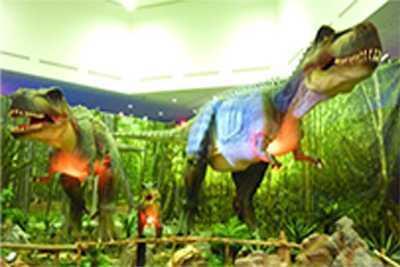 Dinosaur Theme Pavilion